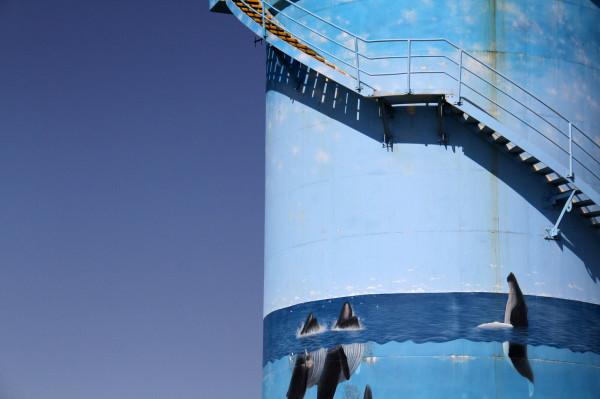 Woolgoolga water tank