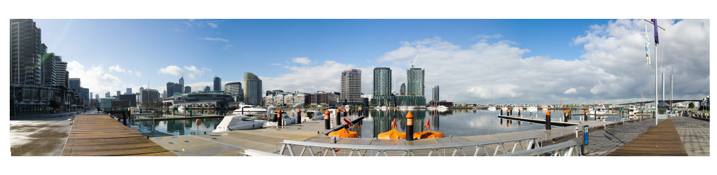 Docklands_Panorama1 by Dave Ferguson.